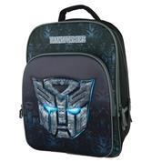 "Bagtrotter τσάντα πλάτης δημοτικού ""Transformers"" μαύρο 40x29x15εκ."