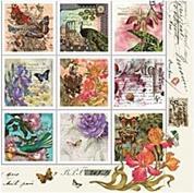 """Χαρτοπετσέτες 20τεμ. """"γραμματόσημα"""" 33x33εκ. (SL_OG_034401 )"""
