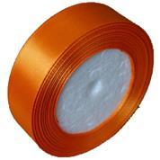 Κορδέλα σατέν με ούγια πορτοκαλί  2,5εκ. x 22μ.