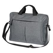 Τσάντα για λάπτοπ πολυεστέρα γκρι 39x9x29εκ