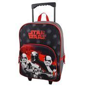 "Bagtrotter τσάντα δημοτικού τρόλευ ""Star wars"" μαύρη 41x30x12εκ."