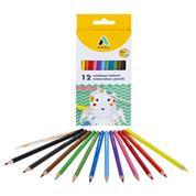Adel ξυλομπογιές-νερομπογιές 12 χρώματα