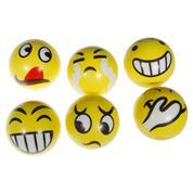 Μπαλίτσα antistress κίτρινες φατσούλες