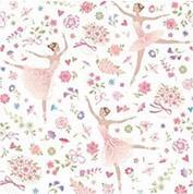 """Χαρτοπετσέτες 20τεμ. """"μπαλαρίνες ροζ"""" 33x33εκ. (SD_OG_013601 )"""