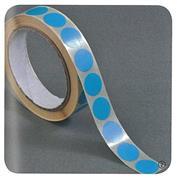 Ετικέτες αυτοκ.στρόγγυλες Ø20mm μπλε ρολλό 1000τεμ