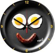 """Νext ρολόι Ø31εκ. """"αυγά-λουκάνικο"""""""