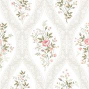 """Χαρτοπετσέτες 20τεμ. 33x33εκ """"ανθάκια λευκό-ροζ"""" (SDOG020401)"""