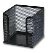 Κύβος μεταλλικός μαύρος Υ10x10x10εκ.