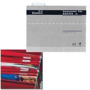 Comix κρεμαστοί φάκελοι γκρι F/C Υ24,5x40,5εκ.