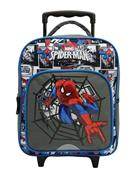 Bagtrotter τσάντα τρόλευ δημοτικού Spiderman με 2 θήκες 35x29x11εκ.