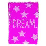 Τετράδιο με παγιέτες, Dream, 80 φύλλα, 15x21 εκ.