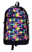 Montana τσάντα πλάτης εφηβική με κύκλους με 1 θήκη 39x27x13εκ.