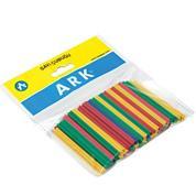 Ark ξυλάκια αριθμητικής 6εκ. μήκος,  πλαστικά χρωματιστά 50τεμ.