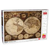 "Next παζλ ""Παγκόσμιος χάρτης"", 28x38 εκ.,260 τεμαχίων"