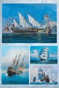 """Χαρτί decoupage """"Ships"""" 32x48εκ."""