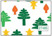 "Next χαρτί περιτυλίγματος 16 φύλλα 70x100εκ. ""χριστουγ. δέντρο"""