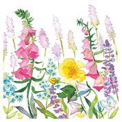 """Χαρτοπετσέτες 20τεμ. 33x33εκ """"Άνθη"""" (SDOG 022001)"""