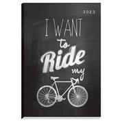 Next ημερολόγιο 2022 Gallery ημερήσιο δετό 14x21εκ, Riding μαύρο