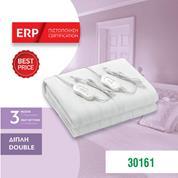 Ηλεκτρική κουβέρτα διπλή & πλενόμενη με 2 χειριστήρια 60W 220-240V