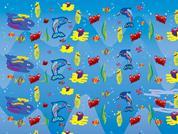 "Next χαρτί περιτυλίγματος 16 φύλλα 70x100εκ. ""ψάρια"""