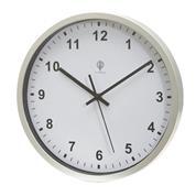 Ρολόι τοίχου αναλογικό λευκό καντράν Ø30x4εκ.