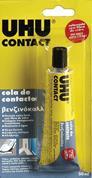 "Uhu βενζινόκολλα ""Contact glass fibre"" 50ml."