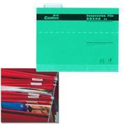 Comix κρεμαστοί φάκελοι πράσινο Α4 Υ24,3x31,9εκ.