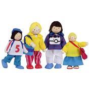 Goki σετ οικογένεια με 4 κούκλες που πάει διακοπές.
