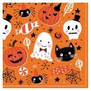 """Χαρτοπετσέτες 20τεμ. 33x33εκ """"Halloween"""" (SDOG 030701)"""