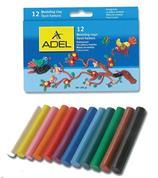 Adel πλαστελίνη 12 χρώματα 130γρ.