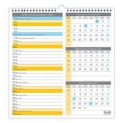 Ημερολόγιο-πλάνο τοίχου, 3 μηνών, 12 φύλλα, 33x35εκ.