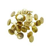 Πινέζες χρυσές 11mm 100τεμ.