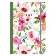 Next ημερολόγιο ημερήσιο flexi λάστιχο flowers 12x17εκ.