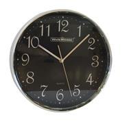 Ρολόι τοίχου σε μαύρο χρώμα Ø30εκ.