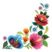"""Χαρτοπετσέτες 20τεμ. 33x33εκ """"Λουλουδένιο πλαίσιο"""" (SDOG 021801)"""