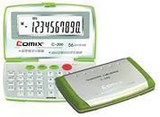 Comix κομπιουτεράκι υπολογιστής 10 ψηφίων 90x58x12mm