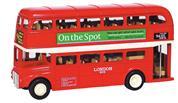 Λεωφορείο λονδρέζικο μεταλλικό 12εκ.