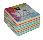 Next κύβος χρωματιστός κολλητός xxl 500φυλ.10x10,5x5.5εκ.