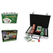 Σετ πόκερ σε βαλίτσα 30x26,5x6,5εκ.
