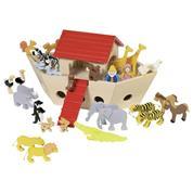 Κιβωτός του Νώε ξύλινη με ζωάκια