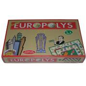 """Επιτραπέζιο παιχνίδι """"Double europolys"""" Υ7,5x42x25εκ."""