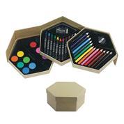 Κουτί με χρώματα ζωγραφικής σε 3 επίπεδα
