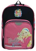 Bagtrotter τσάντα δημοτικού πλάτης Barbie με 2 θήκες 35x26x11εκ.