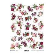 """Ριζόχαρτο """"roses"""" 21x29εκ.   (ITD-R1338)"""