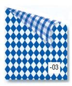 Rainbow χαρτόνι καρό μπλε-λευκό 2 όψεων 50x70εκ.