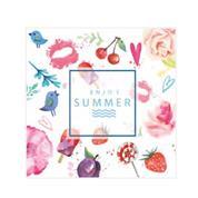 """Χαρτοπετσέτες 20τεμ. """"enjoy summer"""" 33x33εκ. (SDOG 028801)"""