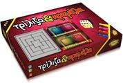 "Next επιτραπέζιο παιχνίδι ""Τρίλιζα-κρεμάλα"" Υ9x24,5x23εκ."