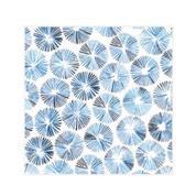 """Χαρτοπετσέτες 20τεμ. """"μπλε λουλούδια"""" 33x33εκ. (SDOG 023901)"""