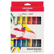 Talens σετ 12 ακρυλικών χρωμάτων, 20 ml/χρώμα
