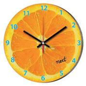 """Νext ρολόι Ø31εκ. """"πορτοκάλι"""""""
